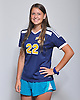 Melanie Hingher of Massapequa poses for a portrait during the Newsday 2015 varsity girls' soccer season preview photo shoot at company headquarters on Thursday, September 10, 2015.<br /> <br /> James Escher