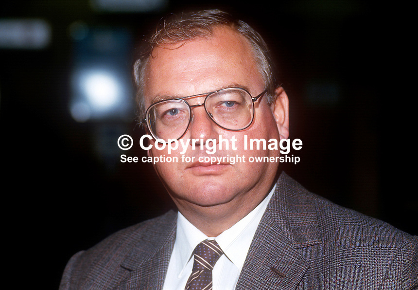 David Ashby, MP, Conservative Party, UK, annual conference, September 19861001DA<br /> <br /> Copyright Image from Victor Patterson, 54 Dorchester Park, Belfast, UK, BT9 6RJ<br /> <br /> t1: +44 28 9066 1296 (from Rep of Ireland 048 9066 1296)<br /> t2: +44 28 9002 2446 (from Rep of Ireland 048 9002 2446)<br /> m: +44 7802 353836<br /> <br /> e1: victorpatterson@me.com<br /> e2: victorpatterson@gmail.com<br /> <br /> The use of my copyright images is subject to my Terms &amp; Conditions.<br /> <br /> It is IMPORTANT that you familiarise yourself with them. They are available on my website at www.victorpatterson.com.<br /> <br /> None of my copyright images may be used on a website unless they are visibly watermarked, i.e. &copy; Victor Patterson within the body of the visible image. Metadata denoting my copyright must NOT be deleted. <br /> <br /> Web use is extra at currently recommended NUJ rates.