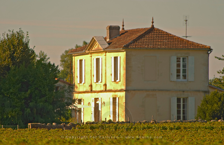 An unknown Sauternes chateau next to Chateau Haut Bergeron
