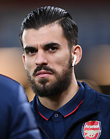 27th January 2020; Vitality Stadium, Bournemouth, Dorset, England; English FA Cup Football, Bournemouth Athletic versus Arsenal; Dani Ceballos of Arsenal arrives at Vitatilty Stadium