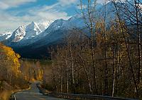 Eagle River Road in Eagle River, Alaska. My hometown.