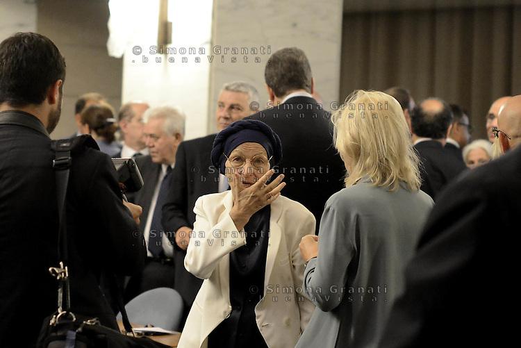 Roma, 27 Luglio 2015<br /> Emma Bonino.<br /> XI Conferenza degli Ambasciatori d'Italia presso il Ministero degli Esteri