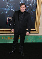 HOLLYWOOD, LOS ANGELES, CA, USA - DECEMBER 09: Stephen Hunter  arrives at the World Premiere Of New Line Cinema, MGM Pictures And Warner Bros. Pictures' 'The Hobbit: The Battle of the Five Armies' held at the Dolby Theatre on December 9, 2014 in Hollywood, Los Angeles, California, United States. (Photo by Xavier Collin/Celebrity Monitor)