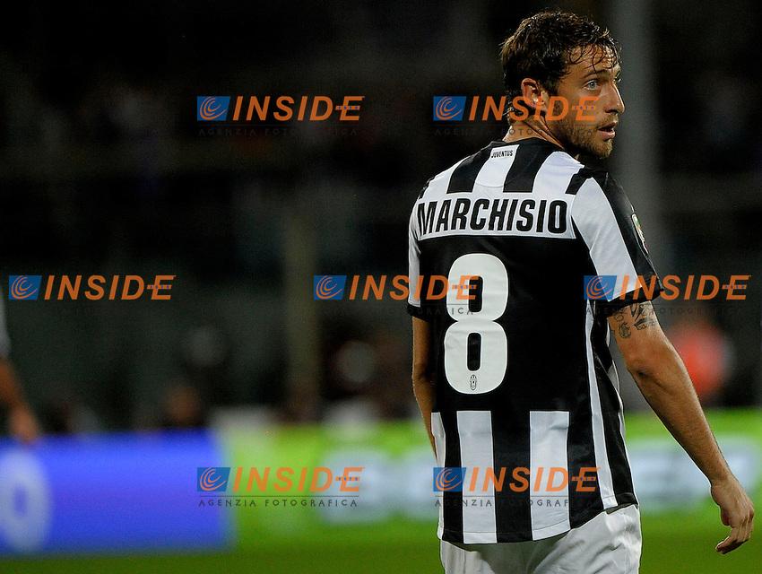 Claudio Marchisio Juventus.  22/9/2012 Juventus Stadium.Football Calcio 2012/2013 Serie A.Foto Federico Tardito Insidefoto