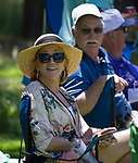 Fans during the ACC Golf Tournament at Edgewood Tahoe Golf Course in South Lake Tahoe on Sunday, July 14, 2019.