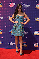 LOS ANGELES - APR 29:  Sofia Carson at the 2016 Radio Disney Music Awards at the Microsoft Theater on April 29, 2016 in Los Angeles, CA