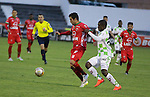 Patriotas venció como local 1-0 a Boyacá Chicó. Fecha 10 Liga Águila II-2016.