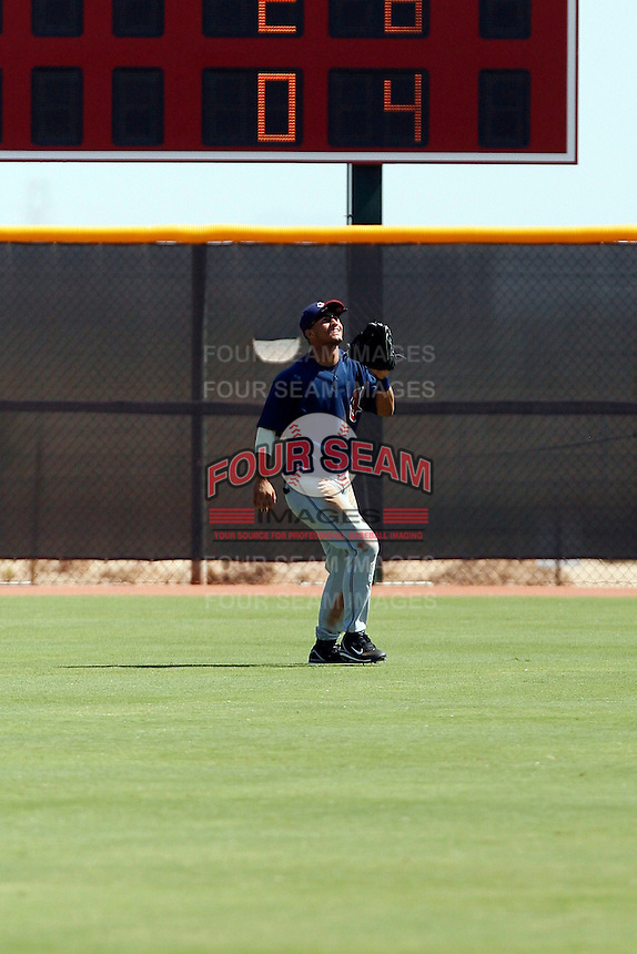 Delvi Cid - Cleveland Indians 2009 Instructional League. .Photo by:  Bill Mitchell/Four Seam Images..