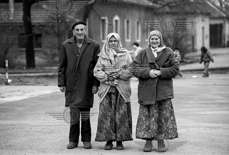 Bosnian Muslim refugees in the Varazdin refugee camp in the winter of 1992. <br /> <br /> In 1992 while volunteering at the Varazdin refugee camp Panos photographer Bjoern Steinz met and became close to Elvis, a Bosnian Muslim refugee, and his family. They shared the hardships of camp life together which Steinz documented. While the prints were archived for many years two of the images always returned to Bjoern's thoughts. 25 years later he set out to try and find out what had happened to Elvis and his family in the intervening years. Modern social media made the task surprisingly easy and they were reunited in Hadzici where Elvis now lives with his family.