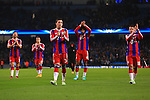 Munich applaud their fans - Manchester City vs. Bayern Munich - UEFA Champion's League - Etihad Stadium - Manchester - 25/11/2014 Pic Philip Oldham/Sportimage