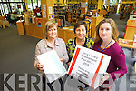 Submit your ideas for Kerry County Library's 2013 to 2018 Development PlanSubmit your ideas for Kerry County Library's 2013 to 2018 Development Plan. Pictured were: Noirin O'Keeffe, Noreen O'Connor and Anne Fitzgerald.