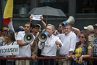 Marcha Uribista / Uribe's Supportes Parade, Medellin, Colombia. 07-08-2015
