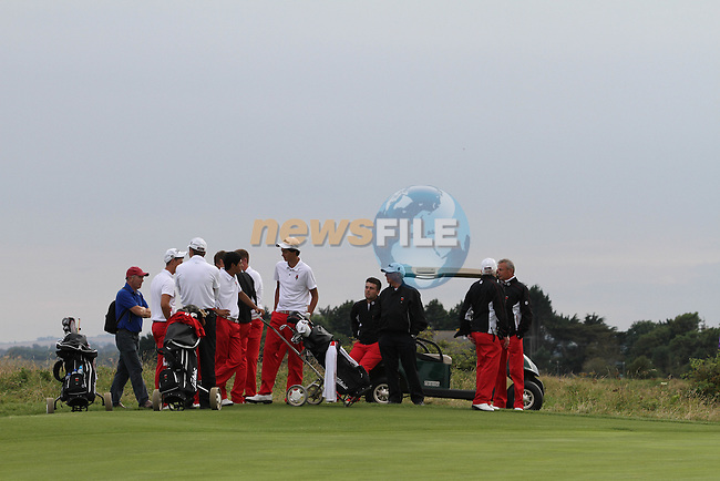 on the Final Day of the 2012 Boys Home Internationals at Co.Louth Golf Club in Baltray, Co.Louth...(Photo credit should read Jenny Matthews/NEWSFILE)...