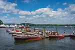 Antique and Classic Boat show, Essex, CT. Connecticut River Museum.