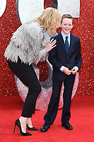 "Cate Blanchett & son Ignatius arriving for the ""Ocean's 8"" European premiere at the Cineworld Leicester Square, London, UK. <br /> 13 June  2018<br /> Picture: Steve Vas/Featureflash/SilverHub 0208 004 5359 sales@silverhubmedia.com"