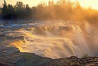 Kaministiquia River at Kakabeka Falls, Kakabeka, Ontario, Canada
