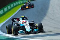 17th November 2019; Autodromo Jose Carlos Pace, Sao Paulo, Brazil; Formula One Brazil Grand Prix, Race Day; Robert Kubica (POL) Williams Racing FW42 - Editorial Use