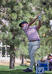 A photograph taken during the Barracuda Championship PGA golf tournament at Montrêux Golf and Country Club in Reno, Nevada on Thursday, July 25, 2019.