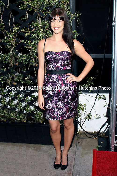 Sarah Lancaster.Eva by Eva Longoria Parker Fragrance Launch Party.Beso Hollywood.Hollywood, CA.April 27, 2010.©2010 Hutchins Photo....