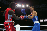 Glasgow 2014 Commonwealth Games<br /> Nathan Thorley v Yakita Aska<br /> Men's Light Heavy (81kg)<br /> SECC<br /> 29.07.14<br /> ©Steve Pope-SPORTINGWALES