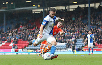 Blackburn Rovers' Adam Armstrong<br /> <br /> Photographer Rachel Holborn/CameraSport<br /> <br /> The EFL Sky Bet League One - Blackburn Rovers v Blackpool - Saturday 10th March 2018 - Ewood Park - Blackburn<br /> <br /> World Copyright &copy; 2018 CameraSport. All rights reserved. 43 Linden Ave. Countesthorpe. Leicester. England. LE8 5PG - Tel: +44 (0) 116 277 4147 - admin@camerasport.com - www.camerasport.com