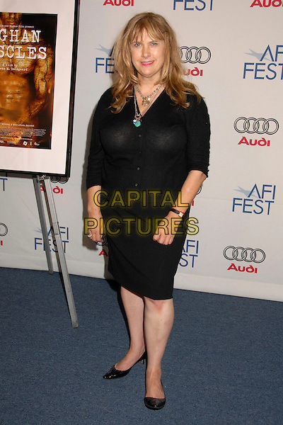 COLLEEN CAMP.AFI FEST 2007 Presented By Audi - Day 6 at ArcLight Cinemas, Hollywood, California, USA..November 6th, 2007.full length black dress .CAP/ADM/BP.©Byron Purvis/AdMedia/Capital Pictures.