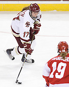 Danielle Welch (BC - 17) - The visiting Boston University Terriers defeated the Boston College Eagles 1-0 on Sunday, November 21, 2010, at Conte Forum in Chestnut Hill, Massachusetts.