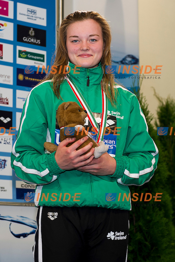 Mc Sharry Mona IRL<br /> 50 Breaststroke Women Final Bronze Medal<br /> LEN 43rd Arena European Junior Swimming Championships<br /> Hodmezovasarhely, Hungary <br /> Day01 06-07-2016<br /> Photo Andrea Masini/Deepbluemedia/Insidefoto