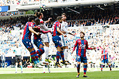 9th September 2017, Santiago Bernabeu, Madrid, Spain; La Liga football, Real Madrid versus Levante; Gareth Bale Real Madrid climbs for the header