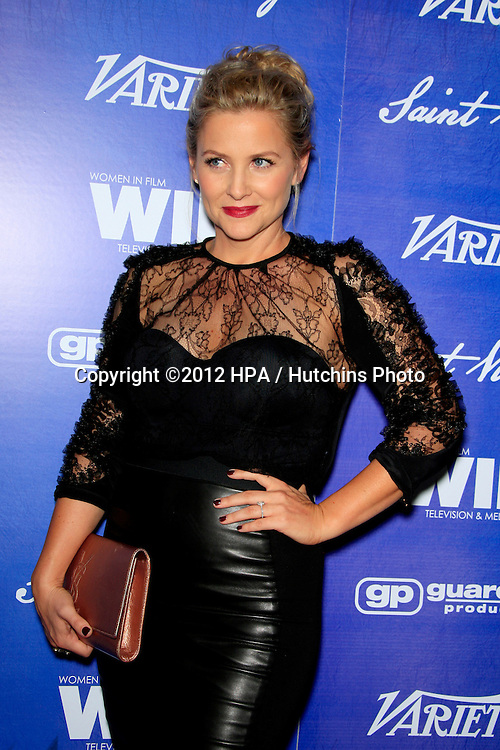 LOS ANGELES - SEP 21:  Jessica Capshaw arrives at the Variety and Women in Film Pre-Emmy Event at Scarpetta on September 21, 2012 in Beverly Hills, CA