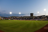 A view of Hammons Field during a game between the Northwest Arkansas Naturals and the Springfield Cardinals at Hammons Field on August 1, 2011 in Springfield, Missouri. Springfield defeated Northwest Arkansas 7-1. (David Welker / Four Seam Images)
