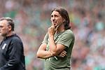 01.09.2019, wohninvest WESERSTADION, Bremen, GER, 1.FBL, Werder Bremen vs FC Augsburg<br /> <br /> DFL REGULATIONS PROHIBIT ANY USE OF PHOTOGRAPHS AS IMAGE SEQUENCES AND/OR QUASI-VIDEO.<br /> <br /> im Bild / picture shows<br /> Martin Schmidt (Trainer / Head Coach FC Augsburg) nachdenklich, <br /> <br /> Foto © nordphoto / Ewert