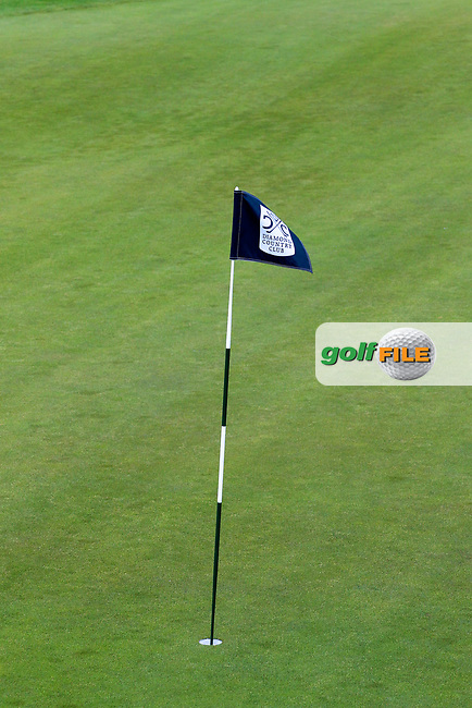 Pinflag during the third round of the Lyoness Open powered by Organic+ played at Diamond Country Club, Atzenbrugg, Austria. 8-11 June 2017.<br /> 10/06/2017.<br /> Picture: Golffile | Phil Inglis<br /> <br /> <br /> All photo usage must carry mandatory copyright credit (&copy; Golffile | Phil Inglis)