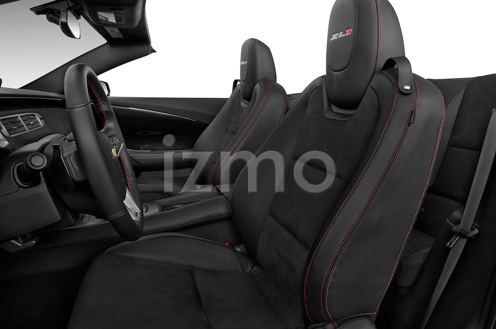2013 Chevrolet Camaro Convertible ZL1 5a Front Seat
