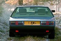 Aston Martin Lagonda car, UK.