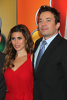 Jamie-Lynn Sigler and Jimmy Fallon at NBC's Upfront Presentation at Radio City Music Hall on May 14, 2012 in New York City. © RW/MediaPunch Inc.