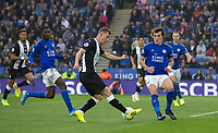 Sean Longstaff of Newcastle United during the Premier League match between Leicester City and Newcastle United at the King Power Stadium, Leicester, England on 29 September 2019. Photo by Andy Rowland.
