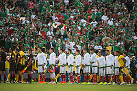 Action photo during the match Mexico vs Jamaica Corresponding to  Group -C- of the America Cup Centenary 2016 at Rose Bowl Stadium.<br /> <br /> Foto de accion durante el partido Mexico vs Jamaica, Correspondiente al Grupo -C- de la Copa America Centenario 2016 en el Estadio Rose Bowl, en la foto: Mexico<br /> <br /> 09/06/2016/MEXSPORT/Jorge Martinez.