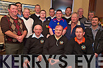 Darby's golfers Paddy Hughes, Pat Gill, John Cusskelly, Pat Carroll, Mike Caey, Louis Holland, Jonathan Casey, Peter Wickham, Donnagh Moynihan, Paul Cronin, Denis Greene, Seamus O'Neill, Dan Daly, Donal Kelly and Leo Casey enjoying their golfers dinner in Darby O'Gills on Saturday night.....