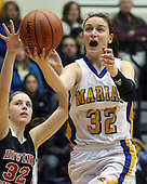 Birmingham Marian vs Devine Child, Girls Varsity Basketball, 2/17/13