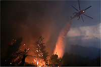 2017 08 14 Forest fires in Kalamos, Greece