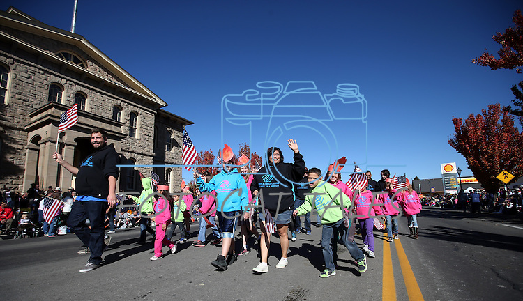 The Boys & Girls Club of Western Nevada participates in the 75th annual Nevada Day parade in Carson City, Nev., on Saturday, Oct. 26, 2013.<br /> Photo by Cathleen Allison