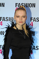 NON-EXCLUSIVE PICTURE: TREVOR ADAMS / MATRIXPICTURES.CO.UK.PLEASE CREDIT ALL USES..WORLD RIGHTS..Russian model Katia Elizarova is pictured attending the Fashion For Good charity fundraising event held at Brooklands Hotel in Weybridge, Surrey this evening...NOVEMBER 9th 2012..REF: MTX 125184
