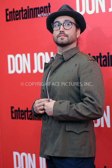 WWW.ACEPIXS.COM<br /> September 12, 2013...New York City<br /> <br /> Sean Lennon attending 'Don Jon' New York Premiere at SVA Theater on September 12, 2013 in New York City.<br /> <br /> Please byline: Kristin Callahan/Ace Pictures<br /> <br /> Ace Pictures, Inc: ..tel: (212) 243 8787 or (646) 769 0430..e-mail: info@acepixs.com..web: http://www.acepixs.com