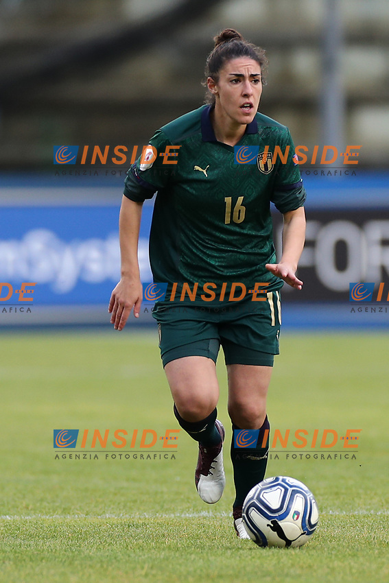 Laura Fusetti of Italy<br /> Castel di Sangro 12-11-2019 Stadio Teofolo Patini <br /> Football UEFA Women's EURO 2021 <br /> Qualifying round - Group B <br /> Italy - Malta<br /> Photo Cesare Purini / Insidefoto