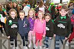 Listowel Parade: Taking part in the Listowel parade were Tara Enright, Lauren Duffy, Alice McMahon, Grace McMahon, Ciara O'Sullivan & Partick Brosnan.