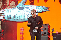 LONDON, ENGLAND - JULY 15: El-P of 'Run The Jewels' performing at Lovebox, Victoria Park on July 15, 2016 in London, England.<br /> CAP/MAR<br /> &copy;MAR/Capital Pictures /MediaPunch ***NORTH AND SOUTH AMERICAN SALES ONLY***