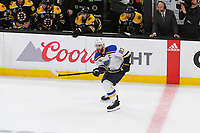 June 6, 2019: St. Louis Blues defenseman Alex Pietrangelo (27) in game action during game 5 of the NHL Stanley Cup Finals between the St Louis Blues and the Boston Bruins held at TD Garden, in Boston, Mass. The Blues defeat the Bruins 2-1 in regulation time. Eric Canha/CSM