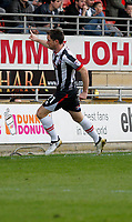 GOAL - Grimsby Town's Scott Vernon scores the third during the Sky Bet League 2 match between Leyton Orient and Grimsby Town at the Matchroom Stadium, London, England on 11 March 2017. Photo by Carlton Myrie / PRiME Media Images.