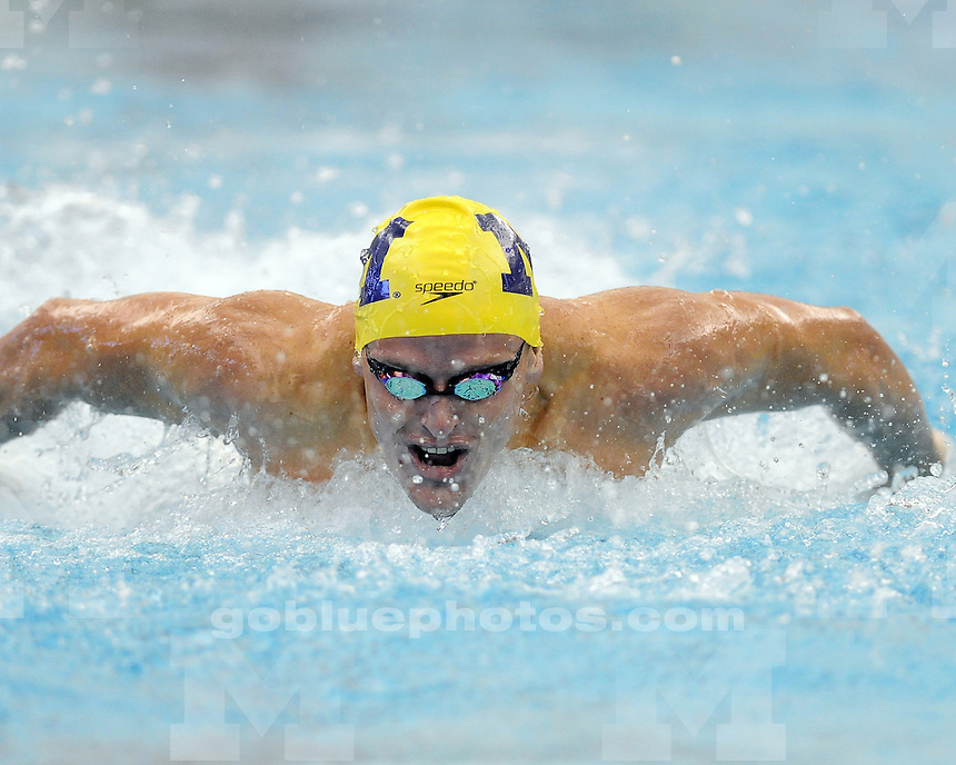 Michigan men's and women's swimming and diving Swim Carnival 2013 at Canham Natatorium, Saturday, September 28, 2013.